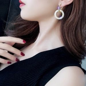 Fashion Jewelry Jewelry - 💋Just In💋 Full Rhinestone Zircon Earrings